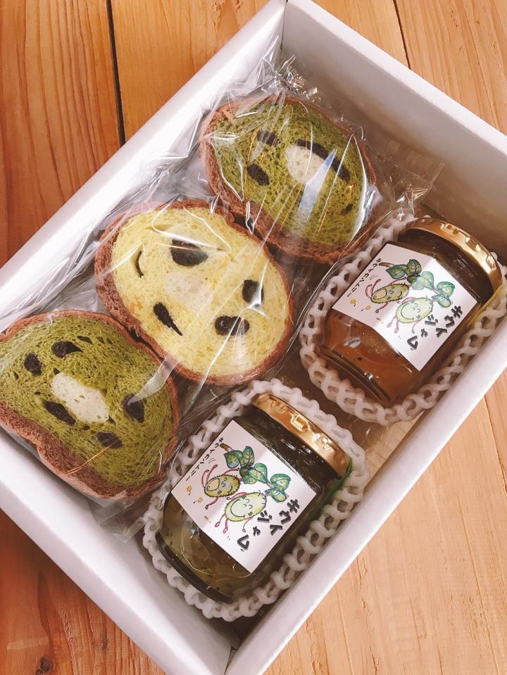 「キウイおばさんの作るキウイ丸太パンケーキ&ジャムセット」商品写真 2