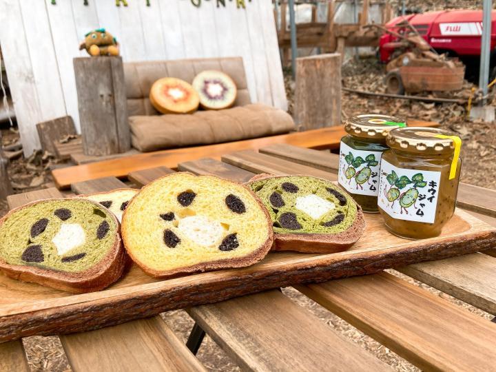 「キウイおばさんの作るキウイパン&ジャムセット」商品写真 3