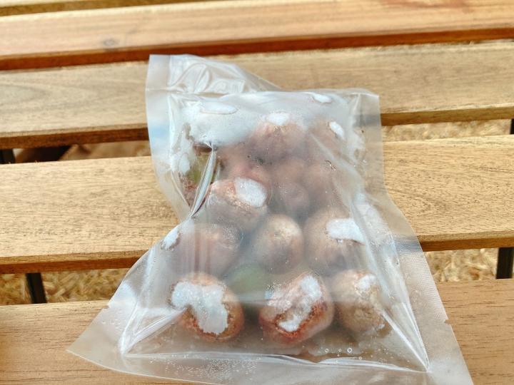 「【酸っぱい冷凍キウイ】ミオイノシトールを含んだB級品ベビーキウイの詰め合わせ」商品写真 3