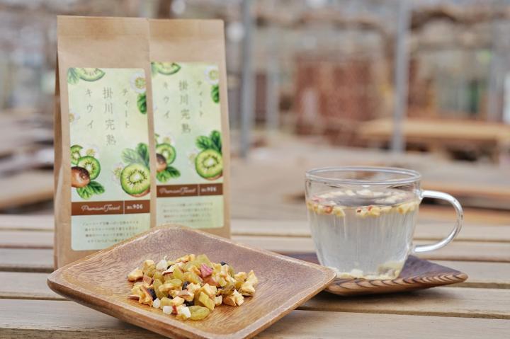 「ティート掛川完熟キウイドライフルーツ(食べられるお茶)」商品写真 2