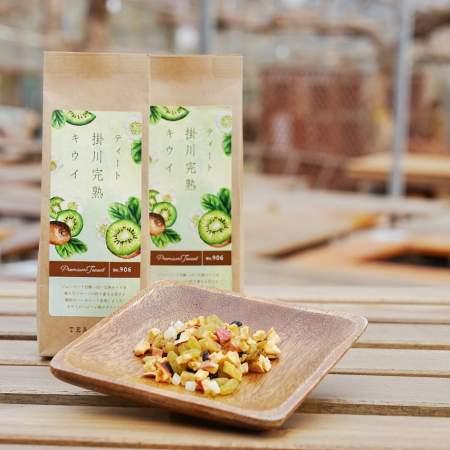 「ティート掛川完熟キウイドライフルーツ(食べられるお茶)」商品写真サムネイル