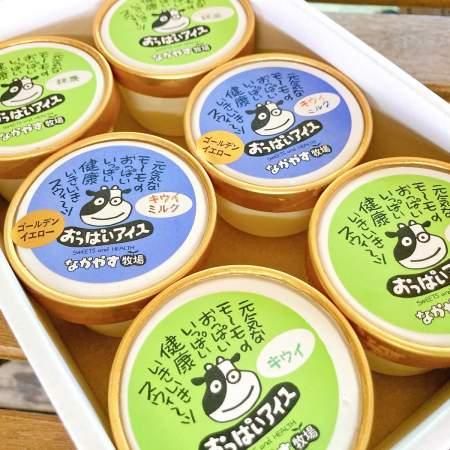 「なかやす牧場さんとコラボ!3種類のおいしいアイスシャーベット」商品写真サムネイル